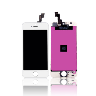 iPhone 5S LCD/Digitizer Assembly White TM