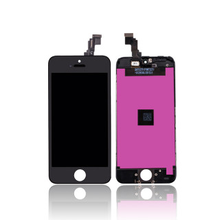 iPhone 5C LCD/Digitizer Assembly Black TM