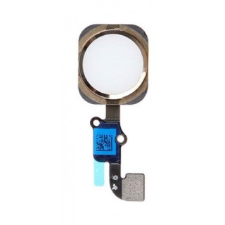 iPhone  6G Home Button with Flex Cable  Gold