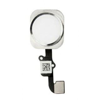 iPhone  6G Home Button with Flex Cable White Silver