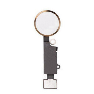 iPhone  8G Home Button with Flex Cable Gold