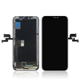iPhone X LCD/Digitizer Assembly Black TM