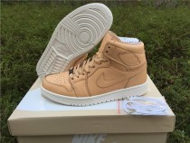 Authentic Air Jordan 1 Pinnacle Vachetta Tan