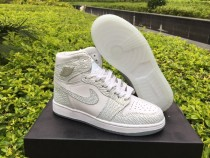"Authentic Air Jordan 1 GS ""Frost White"""