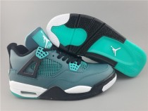 Authentic Air Jordan 4 Teal GS