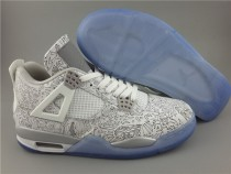 Authentic Air Jordan 4 Laser