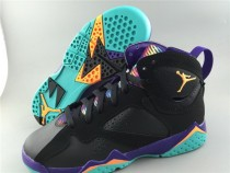 Authentic Air Jordan 7 Retro Multicolor Tongue GS