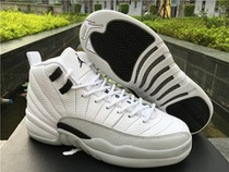 "Authentic Air Jordan 12 GS ""Barons"""