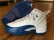 Air Jordan 12 Retro French Blue GS