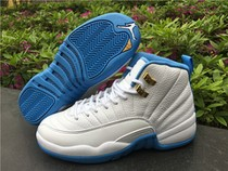 Authentic Air Jordan 12 GS University Blue