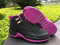 Authentic Air Jordan 12 GS Hyper Violet