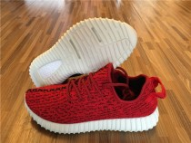 Authentic Adidas Yeezy Boost 350 Red By P.Diddy