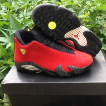"Authentic Air Jordan 14 Retro ""Ferrari"""