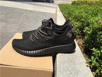 【Retail Version】 Adidas Yeezy Boost 350 GS Pirate Black