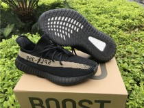★ Retail Version ★ Adidas Yeezy 350 Boost V2 Core Black Green
