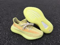 Authentic Adidas Yeezy 350 V2 Boost Bright Yellow