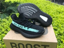 Authentic Adidas Yeezy 350 V2 Boost Core Black Mint 2017