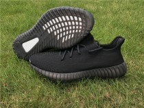 "Authentic Yeezy 350 Boost V2 ""Triple Black"""