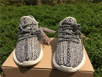 Authentic Adidas Yeezy Boost 350 Grey GS