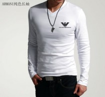 Armani Long V Neck Men T-shirt-9