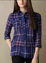 Bruberry Women Long Shirt-100