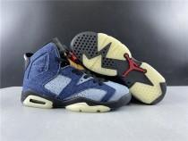 Air Jordan 6 Washed Denim Shoes