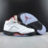Air Jordan 5 Retro Fire Red Shoes