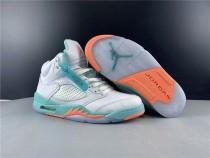 Air Jordan 5 Light Aqua Shoes