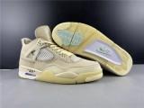 Air Jordan 4 X Off White Shoesq