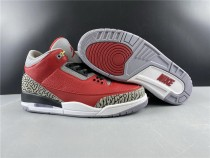 Air Jordan 3 Red Cement Shoes