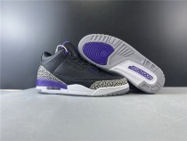 Air Jordan 3 Court Purple Shoes