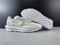 Sacai X Nike LVD Waffle Daybreak White