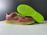 Nike Dunk SB Low 1-Piece Laser Varsity Red Chartreuse