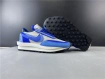 Sacai X Nike LVD Waffle Daybreak Blue