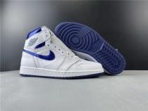 Air Jordan 1 Retro Metallic Navy Shoes
