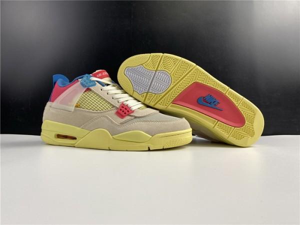 Union X Air Jrodan 4 Guava Ice Shoes