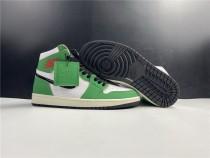 Air Jordan 1 Luck Green Woman Shoes