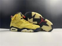 Air Jordan 6 X Travis Scott Yello