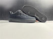 Nike Air Force One X Stussy Balck Shoes