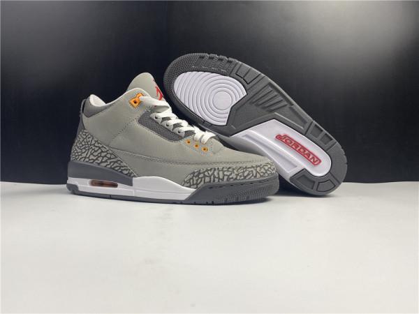 Air Jordan 3 Cool Grey Shoes