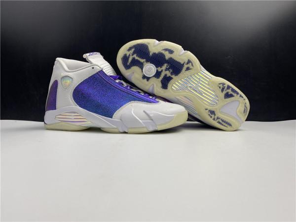 Air Jordan 14 Retro Doernbercher White Shoes