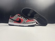 Nike Dunk SB Low X Supreme Shoes Red
