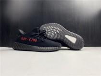 Adidas Yeezy 350 V2 Boost Black Red (New Version 2020)