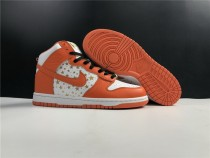 Nike Dunk SB High X Super Shoes (White Orange)