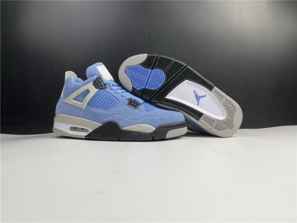 Air Jordan 4 Retro University Blue Shoes