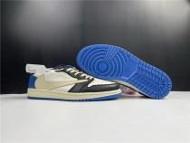 Air Jordan 1 x Fragment X Travis Scott Shoes Low