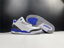Air Jordan 3 Racer Blue Shoes