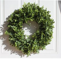 Artifical Plants Garland Greenery Fake Plants Wreath Boxwood Gralands Wreath Wedding Decoration Farmhouse Hawaii Door Decor