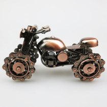 all terrain vehicle dune buggy iron motorcycle model metal crafts Desk ornament Holiday gifts