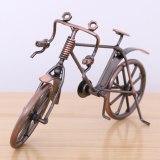Diecast Bicycle Office Iron Simulation Retro Children Toy Desktop Figurines Home Decor Tourism Souvenir Gift Crafts Bike Model